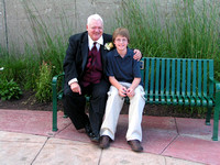 sam with grandpa at anns wedding)